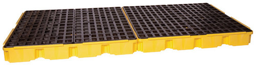 Buy Eagle 1688 Yellow 8 Drum Containment Platform no Drain today and SAVE up to 25%.