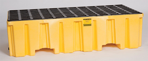 Buy Eagle 1620 Yellow 2 Drum Pallet w/ Drain today and SAVE up to 25%.