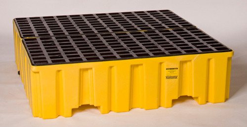 Buy Eagle 1640 Yellow 2 Containment Pallet w/ Drain today and SAVE up to 25%.