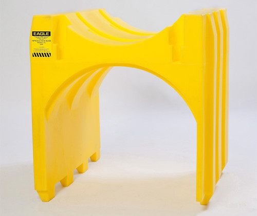 Buy Eagle 1606 Yellow Single Drum Poly Stacker today and SAVE up to 25%.