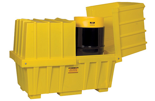 Buy Eagle 1626 2 Drum Low-Profile Workstation for 55 Gallon Drums today and SAVE up to 25%.