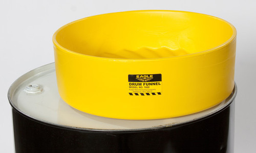 Buy Eagle 1662 Drum Funnel with Screen-Yellow with Flame Arrestor Screen today and SAVE up to 25%.