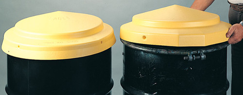 Buy Eagle 1667 Drum Cover Open Head Yellow High Density Polyethylene today and SAVE up to 25%.