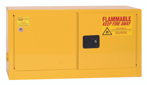 Buy Eagle ADD14X Add-On Flammable Liquid Safety Cabinet, 15 Gal., 1 Shelf, 2 Door, Self Close, Yellow today and SAVE up to 25%.