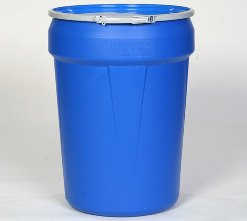 Buy Eagle 1601MB Open Head Poly Drum 30 Gal Blue w/ Metal Lever-Lock Ring today and SAVE up to 25%.