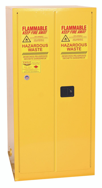 Buy Eagle HAZ2610X HAZ-MAT Safety Cabinet 55 Gal Two Door Self Close today and SAVE up to 25%.