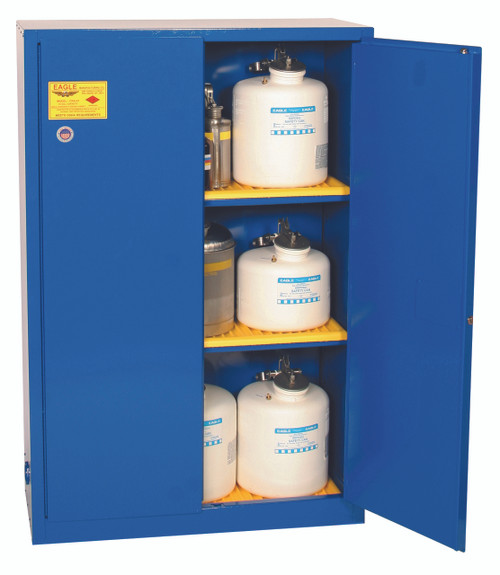 Buy Eagle CRA47X Manual Close 45 Gal Metal Acid & Corrosive Safety Cabinet today and SAVE up to 25%.