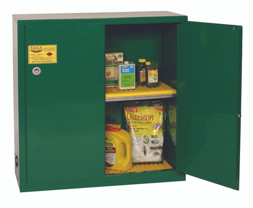 Buy Eagle PEST32X Pesticide Safety Storage Cabinet 30 Gal Manual Close today and SAVE up to 25%.