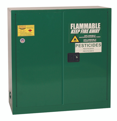 Buy Eagle PEST3010 Pesticide Safety Storage Cabinet 30 Gal Self Close today and SAVE up to 25%.