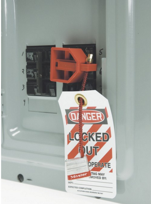 Accuform KDD122 Double Pole Circuit Breaker Lockout. Shop now!