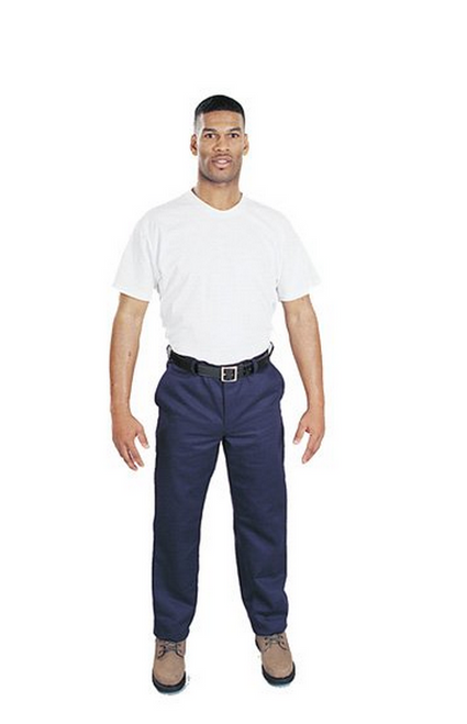 Steel Grip  NBV89586B Navy Blue Vinex Pant available in different sizes. Shop now!