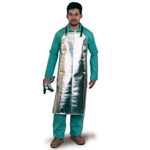 Steel Grip ATH125 Aluminized Thermonol Bib Apron with Slide Snap. Shop Now!