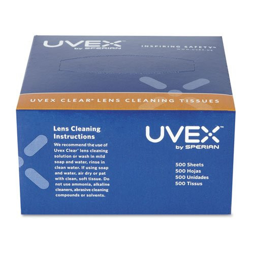Uvex S462 Clear Lens Cleaning Tissues - 500/Box. Shop Now!