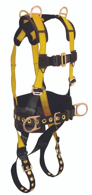 FallTech 7034 Journeyman 5-D Full Body Retrieval Harness. Shop Now!