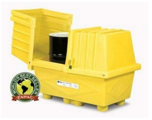 CEP  2038-YE Poly Safety Pack Two Drum Storage. Shop now!