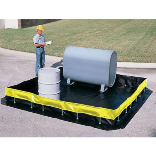 Ultratech 8404 Collapsible Wall Model 5385 Gallon Containment Berm. Shop now!