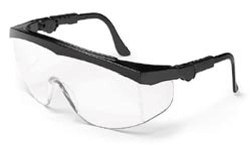 Tomahawk nylon black frame, clear lens
