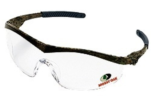 Mossy Oak MO110 Storm camo frame, Clear lens. Shop now!