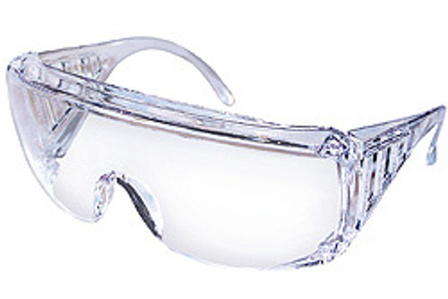 Yukon clear frame, clear uncoated lens