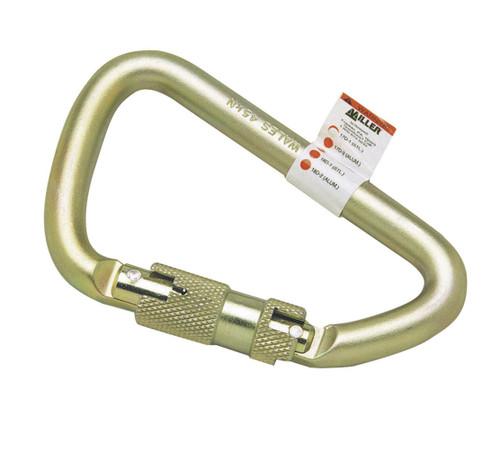 Miller 17D-1 Steel Twist-Lock Carabiner. Shop now!