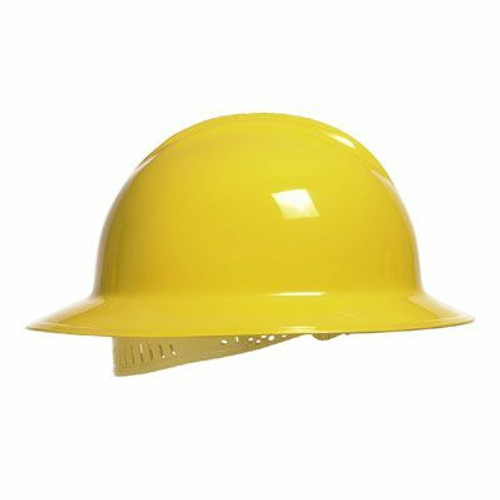 Bullard C33R Full Brim Hard Hat as Shown in Yellow. Shop now!