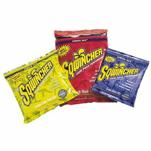 Beat the Heat! Hydrate Yourself with Sqwincher 5 Gallon Powder Mix.