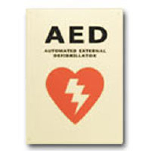 American AED Flat AED Sign