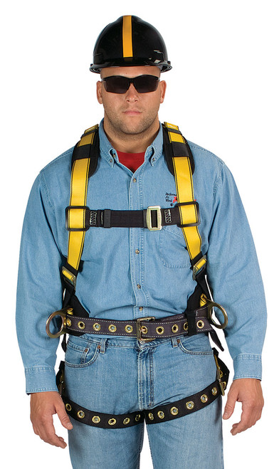 Construction harness w/ shoulder pads. Shop now!