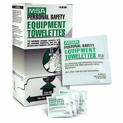 MSA Personal Safety Equipment Towelettes. Sold 100 Per Box. Shop now!