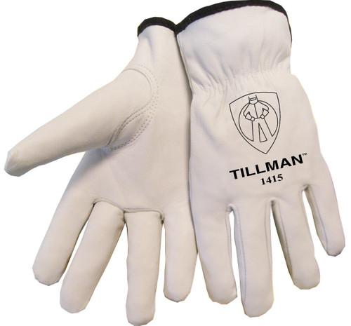 Tillman 1415 Unlined Top Grain Goatskin Drivers Gloves. Shop Now!