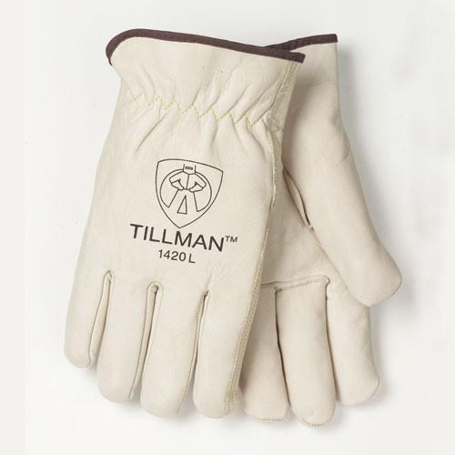 Tillman 1420 Top Grain Cowhide Gunn Cut Drivers Gloves. Shop Now!