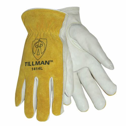 Tillman 1414 Top Grain Cowhide Palm, Drivers Gloves. Shop Now!