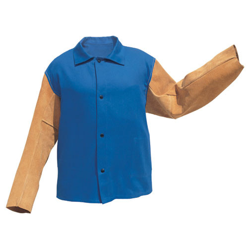 Tillman FR 9230 Flame-retardant Cotton Jackets w/ Leather Sleeves. Shop Now!