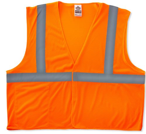 Ergodyne 8210HL GloWear Class 2 Economy Vest in Orange. Shop now!