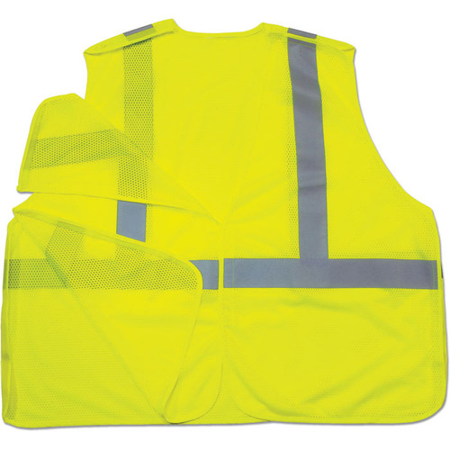 Ergodyne 8215BA GloWear Class 2 Econo Breakaway Vests as Shown in Lime. Shop now!