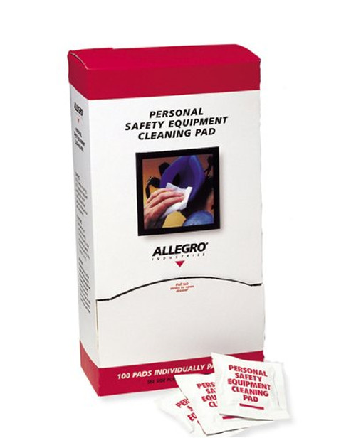 Allegro 1001 Respirator Cleaning Pad Towelettes, 5 in x 8 in (100/Box). Shop Now!