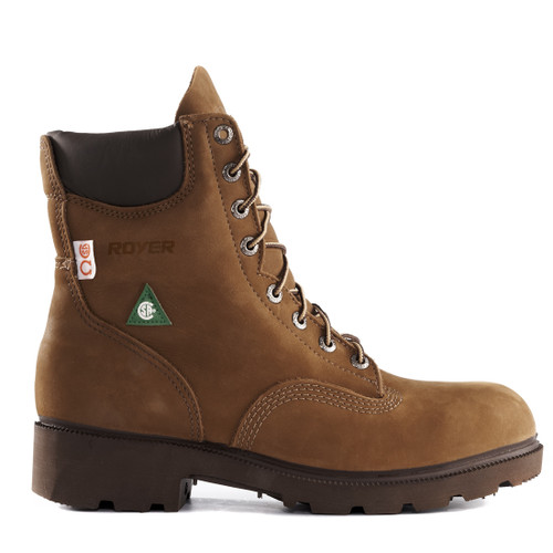 Royer 8002 Cocoa 8 Inches Boot. Show Now!