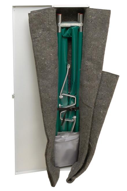 Junkin Safety JSA-655-NA Easy Fold Aluminum Pole Stretcher Kit. Shop Now!