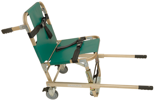 Junkin Safety JSA-800-EHW Evacuation Chair with Extended Handles & Four Wheels. Shop Now!