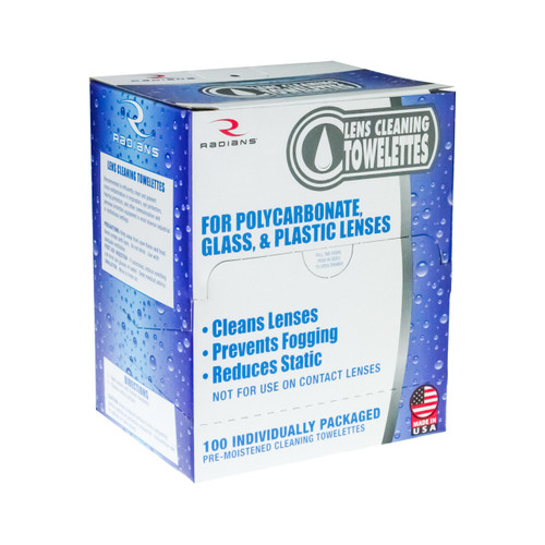 Radians LCD100 Individually Packed Lens Cleaning Towelettes. Shop now!