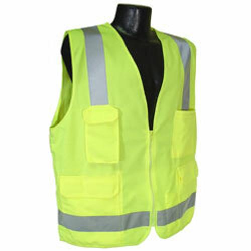 Radians SV7 Surveyor Class 2 Vest (Green Solid/Mesh). Shop now!