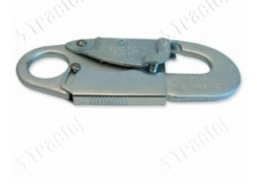 Tractel 3/4 in. Die cut steel Self locking Snap Hook. Shop now!