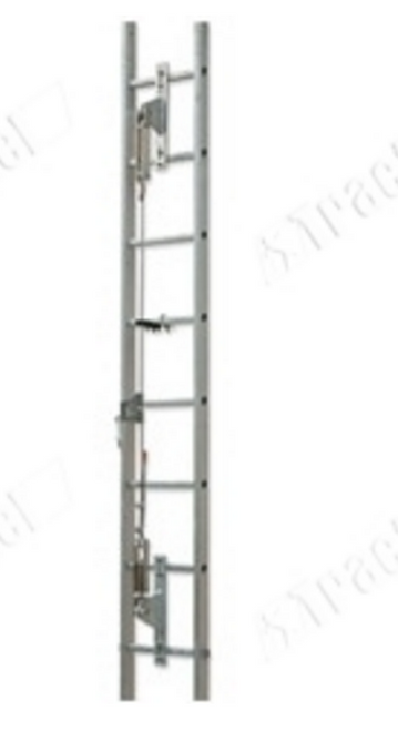 Tractel L1T820 Stopcable Ladder Safety System 3/8 in. Steel Wire Rope. Shop now!