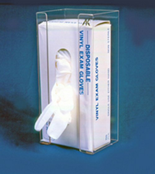 AK-780 Wrap Around Glove Dispenser. Available in White, Clear and Black. Shop now!