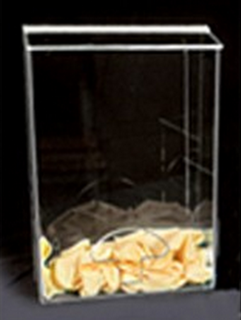 AK-790 Acrylic Accessory Bin. Available in Amber and Clear. Shop now!