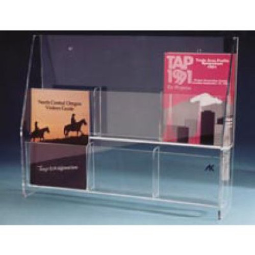 AK-903 2 Tier Literature Rack. Shop now!