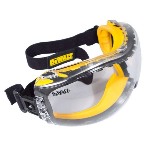 DeWalt DPG82 Concealer Safety Goggles (Clear Anti-Fog Lens). Shop now!