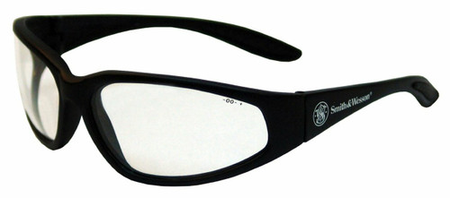 19856 Black Frame, Clear Lens