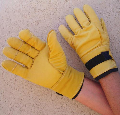 Impacto BG750 Anti Vibration Full Finger All Leather Air Gloves. Shop Now!