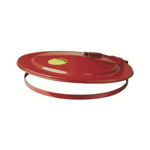 Justrite 26750 Self Close Red Drum Cover w/ Fusible Link for 200L Drum. Shop now!